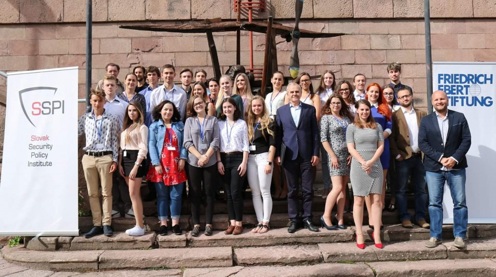 Students from Slovak high schools graduated from 2nd year of Summer